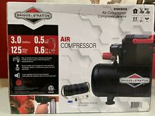 Briggs & Stratton 0.5HP 3-Gallon Air Compressor #0100341A Brand new