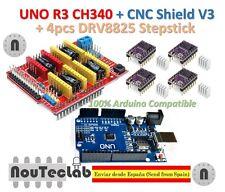 UNO R3 + CNC Shield V3 Expansion Board + 4pcs DRV8825 Stepper Motor Driver