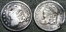 1835 1837 Capped Bust Half Dime Lot Type Coin ---- NICE L@@K ---- #F952