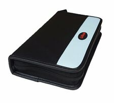 56 Disc Portable CD DVD Wallet Holder Bag Case Album Organizer for Media Storage