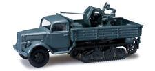 Herpa 744645 Opel Blitz half-track vehicle armé forces gris 1:87 modélisme