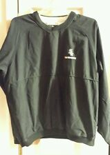 MLB Chicago White Sox 2005 World Series Black Pullover Jacket Mens Size Large
