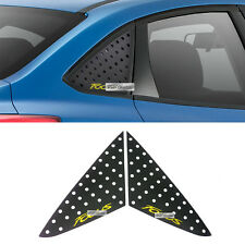 C Pillar Window Glass Sports Plate Molding Yellow Logo For FORD 2010-2016 Focus