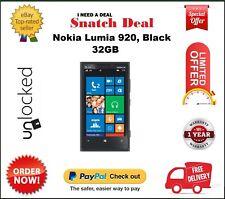 Nokia Lumia 920 32GB Unlocked Smartphone Windows 8 Average condition Black White