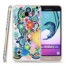 Cover e custodie bianco modello Per Samsung Galaxy J3 con un motivo, stampa per cellulari e palmari