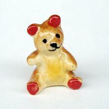 Tiny Cute Bear Ceramic Figurine Home Decor MINIATURE Gift Garden Decor Dollhouse