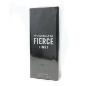A&F FIERCE NIGHT Abercrombie & Fitch 1.7 oz (50 ml) Spray Cologne NEW & SEALED