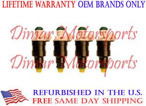 Lifetime Warranty - OEM Fuel Injector Set of 4 - 0280150160