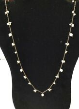 Vintage GF Sterling Silver Seed Pearl Necklace