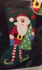 NIP Artiste Santa Felt Stocking Kit Kooler Design Studios Craft Hobby Lobby