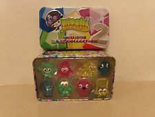 BOX OF 8 ROX COLLECTION OF MOSHI MONSTER PLAY FIGURES BY MIND CANDY, MINT.