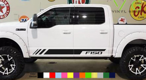 Ford F150 F-150 Vinyl Decal Sticker Graphics Kit Sport Side Door x2 ANY COLOR