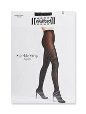 NEW NEU WOLFORD sparkle strip black xsmall (xs/s)  USA(4/6)