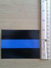 BLUE LINE Flag Police Stickers - cop officer stripe retired officer(lot of 10)