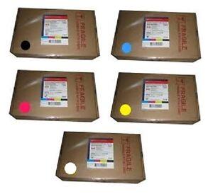 5 x Original Tinte OCE Arizona 200 250 300 350 440 640 / IJC-256 UV Cartridges