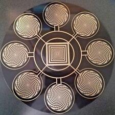 "Radionics Psionics Magnetron Pyramid 12"" PCB Healing Manifestation Gold-Plated"