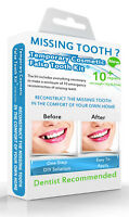 FALSE TEETH TEMPORARY MISSING TOOTH REPLACEMENT DIY KIT