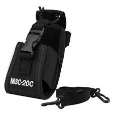 n MSC-20C estuche funda Interfono Motorola Yaesu IBT TYT Baofeng UV-5R / 82 D5Y6