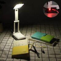 Folding LED Leselicht wiederaufladbare Tabelle Studie kleine Schreibtischlampe