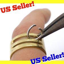 US Seller! Jump Ring Opener Closer Jewelry Making Tool Brass Pinky Jumprings