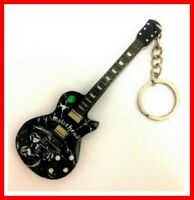 MOTORHEAD - GUITARE MINIATURE PORTE CLE ! Lemmy LOGO Rock Hard Heavy Metal