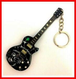 MOTORHEAD - GUITARE MINIATURE PORTE CLE ! Lemmy LOGO Rock Hard Heavy Metal