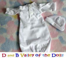 "Reborn Doll White Bag Sleeper for 12"" Baby Dolls ~ REBORN DOLL SUPPLIES"