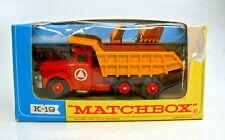 Matchbox Kingsize K-19A Scammel Tipper Truck top in Box