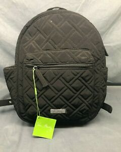 Vera Bradley Leighton Backpack Classic Black NEW WITH TAGS!