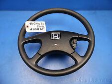 90-91 Honda Civic OEM steering wheel w/ cruise control switch STOCK factory Ex *