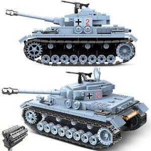 716PCS Military Tank Building Blocks Technic Toys For Children