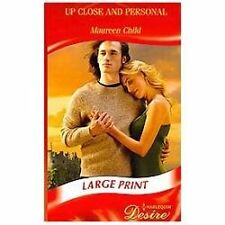 Up Close and Personal (Mills & Boon Largeprint Desire)-ExLibrary