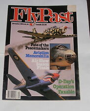 FLYPAST MAGAZINE NOVEMBER 1984 - FATE OF THE PEACEMAKERS/AIR SHOW SEASON FINALE