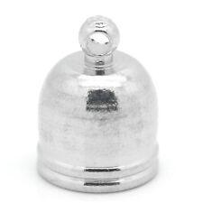30 Perles Embouts pr Bracelet Collier Couleur Moins Brillant 13mm x 10mm B25337