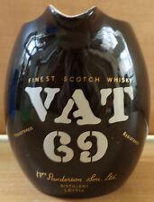 VAT 69 SCOTCH  WHISKY CERAMIC WATER JUG / PITCHER