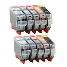 10 Ink Cartridge For Canon Pixma MG5200 MG5250 MG5350 MG6150 MG6220 MG6250