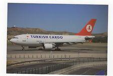 Turkish Cargo Airbus A310-304F Aviation Postcard, A689
