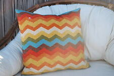 ONE COLORFUL DECORATIVE ACCENT THROW PILLOW CASES CUSHION COVERS 18