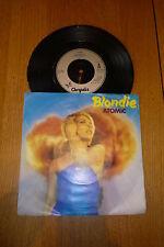 """BLONDIE - Atomic -1980 UK Chrysalis label vinyl 7"""" Single"""