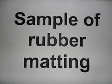 sample of rubber matting including postage & packing from rubbermats4you's eBay