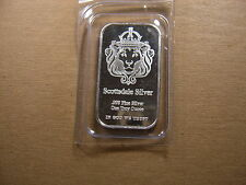 KING LION SCOTTSDALE 999 FINE SILVER BAR MINT SEALED ONE OF THE BEST MINTERS