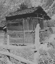 VALTOURNENCHE c. 1949 - Chalet  Italie - Négatif 6 x 6 - ITAL 402