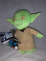 "2011 Star Wars 8"" Yoda Plush With Gumballs-New"