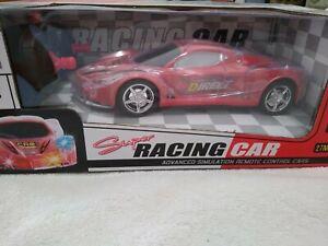 RC Sports Racing Car Spectacular Flash LED Lights Radio Control  2403A