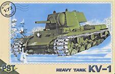 Soviet KV-1 Heavy Tank 1/72 Scale  PST 72012 (Free shipping)