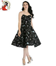 HELL BUNNY BINKY 50s DRESS bunny rabbit EASTER rockabilly XS-4XL