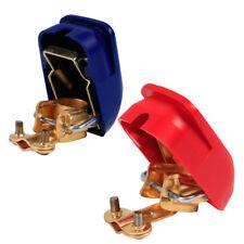 1 set Autobatterie-Schnellklemmen Polklemmen Batterieklemmen Boot KFZ PKW