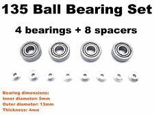 HG 135 (13*5*4mm) Ball Bearings Set for All Tamiya Mini4WD PRO