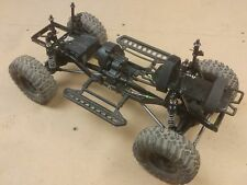 Axial SCX10 1/10 Upgraded R/C Crawler Roller w/ Proline PowerStroke Ripsaw Tires