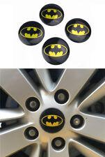 4 Pcs Batman Logo Car rims cover wheel center caps hub caps emblem sticker 56mm